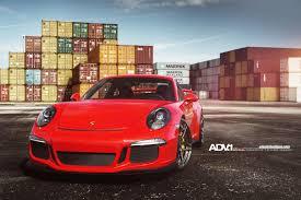 porsche gt3 red porsche 911 gt3 adv05s m v2 cs wheels polished liquid smoke