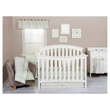 trend lab 3pc crib bedding set u2013 sea foam target