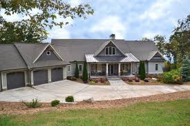 small ranch style home plans daylight basement house plans craftsman with walkout slope bat