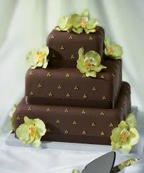 wedding cake gum chocolate wedding cake with gum paste orchids from decopac i do