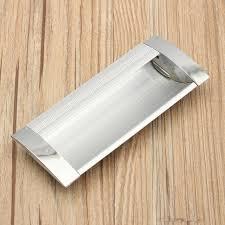 Recessed Cabinet Door Pulls Flush Cabinet Handles Furniture Recessed Door Pulls