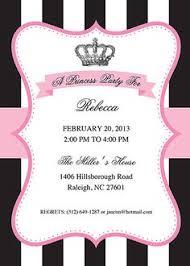 free printable princess birthday invitation template u0026 cupcake