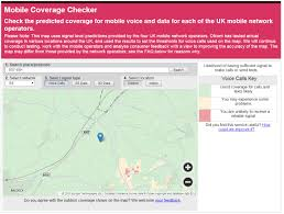 Consumer Cellular Coverage Map Ofcom Launches One Stop Mobile Coverage Checker Ofcom