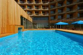 pools and saunas at georg ots spa hotel estonia