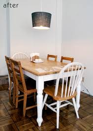 ideas for kitchen tables before after brad s kitchen tables design sponge