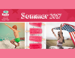 2017 color pallets summer 2017 color palettes reify media