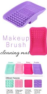 new makeup brush cleaning mat