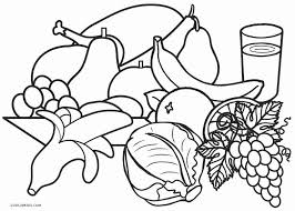 coloring pages of food cool ideas healthy food coloring pages free printable for of
