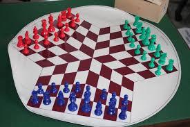 Arizona travel chess set images Three way chess set chess variant board game exeter chess club jpg