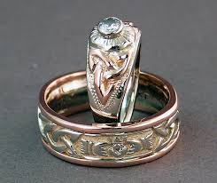 Custom Wedding Rings by Variations On A Celtic Knot U2013 Custom Celtic Wedding Rings Revisited