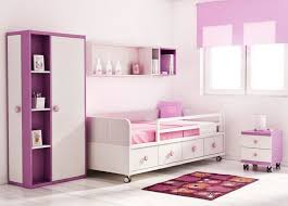 lovely purple kids bedroom furniture equipped cute minimalist bed