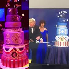 the cakes duff goldman on the cake on the left is the one i made
