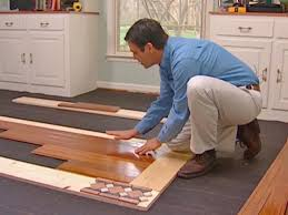 How To Clean Scuff Marks Off Laminate Floors How To Install A Mixed Media Floor How Tos Diy