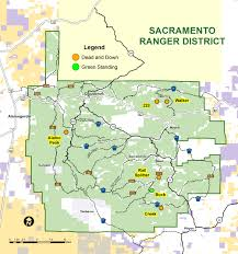 Map Sacramento Lincoln National Forest Forest Products Permits