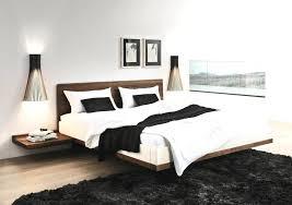 Floating Bed Frames Floating Bed Solid Wood Platform Floating Bed Floating Bed Frames