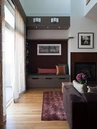 modern loft living room gioi tran hgtv
