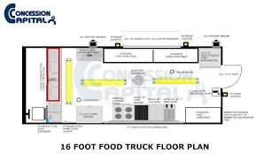 28 food truck floor plans custom food truck floor plan