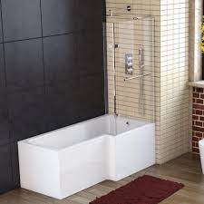 bathroom 1500 1600 1700 left right hand p l shaped shower bath price 129 99 was
