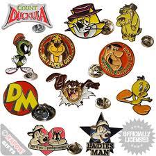 looney tunes metal pin badges looney tunes enamel pin badges clothing