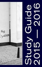 study guide 2015 2016 royal academy of art the hague by royal