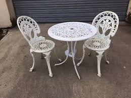 Cast Aluminium Outdoor Furniture by Cast Aluminium Table Ebay