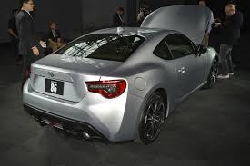 toyota gt 86 news and no added go but more show facelifted 2016 toyota gt86 revealed