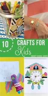 10 crafts for kids smart house