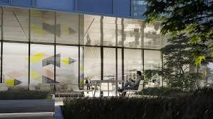 gallery of schmidt hammer lassen breaks ground on glass box