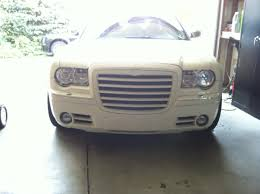 old chrysler grill new grip grill on my vanilla chrysler 300c forum 300c u0026 srt8 forums