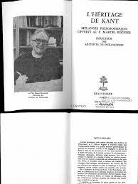 1982 Tilliette ed Lheritage de Kantpdf