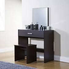 Simple Vanity Table Simple Julia Espresso Dressing Table Set Vanity Desk Stool Mirror