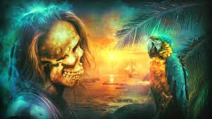 artwork frightening dark artistic halloween original art
