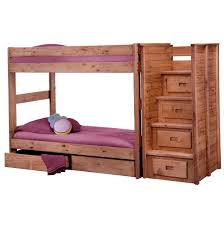 bunk bed with drawers in stairs home design ideas