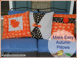 pillow cover pattern for autumn how to make a pillow cover