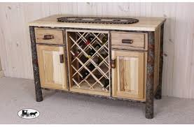 rustic wine cabinets furniture amish made adirondack wine racks and cabinets new york rustic wine