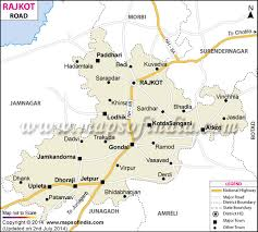 map of rajkot road map