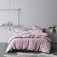 home republic vintage washed luxe pink quilt cover bedroom