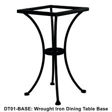 dining table teak wood and wrought iron indoor and outdoor