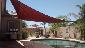 Triangle Awning Canopies Ultra 23 U0027 Triangle Shade Sail With Kit Option