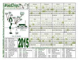 free calendars 2015 the woodchips