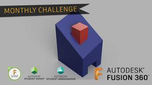 Student Auto Desk by Fusion 360 Challenge Of The Month September 2017 Autodesk Online