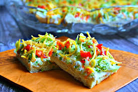 cuisine appetizer cool veggie pizza appetizer and food