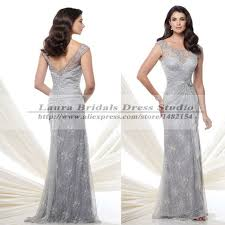 silver dresses for wedding mermaid silver of the lace dresses for