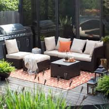 Patio Sectional Outdoor Sectional Furniture Hayneedle