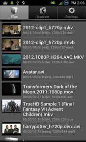 play mov on android avi files on android devices