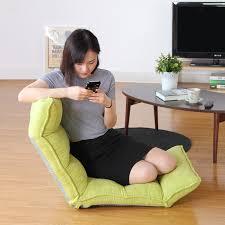 creative japanese ergonomic single lazy sofa bed bed chair cushion