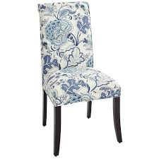 angela indigo floral dining chair dining chairs indigo and room
