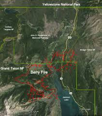 Map Of Montana And Wyoming by Yellowstone National Park U2013 Wildfire Today