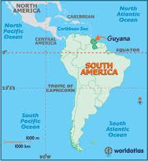 south america map rainforest guyana map geography of guyana map of guyana worldatlas