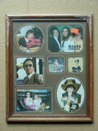 magee company wood picture frame holds 8 x 10 photo new